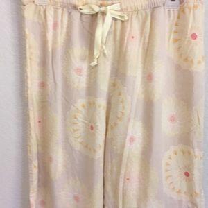 Vintage J Crew Floral Peach 🍑 pj pants